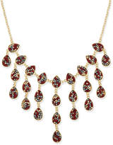INC International Concepts Gold-Tone Multi-Bead Statement Necklace, Created for Macy's