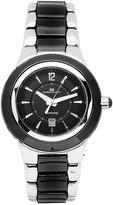Oceanaut OC0411 Women's Ceramic Black & Silver Ceramic & Stainless Steel Watch