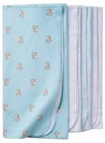 Gerber Babys' 4 Pack Flannel Blanket Set Bears