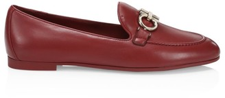 Salvatore Ferragamo Trifoglio Leather Loafers