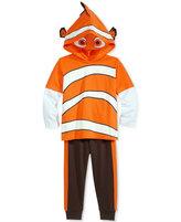 Nannette Little Boys' 2-Pc. Nemo Graphic-Print Hoodie & Pants Set