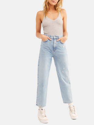 Free People Frank High Rise Dad Jean