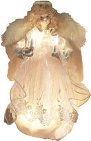 Kurt Adler 12 Ivory Angel Lighted Treetopper