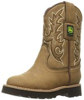John Deere Chi All Over Tan PO Pull-On Boot