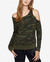 Sanctuary Gramercy Cotton Off-The-Shoulder Sweatshirt