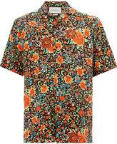 Gucci floral print shortsleeved shirt