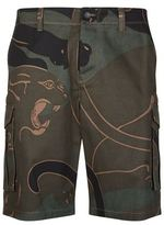 Valentino Camouflage Panther Shorts
