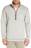 Tommy Bahama 'Cobble Hill' Reversible Quilted Quarter Zip Pullover