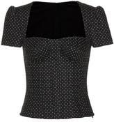 Dolce & Gabbana Printed cotton top