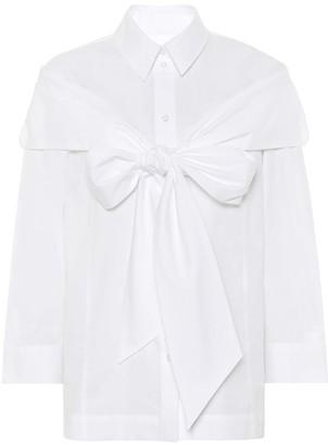 Simone Rocha Cotton-poplin shirt