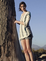 White Stuff Shore stripe knit tunic