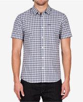 Volcom Men's Short-Sleeve Arthur Plaid Shirt