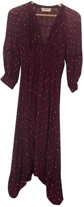 BA&SH Spring Summer 2019 Purple Viscose Dresses