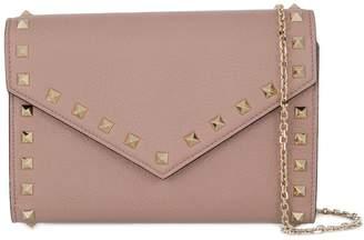 Valentino Garavani Rockstud wallet on chain