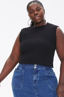 Forever 21 Plus Size Sweater-Knit Top