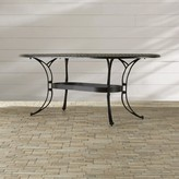 Ayleen Metal Dining Table August Grove Color: Antique Black