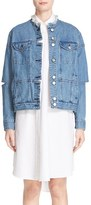 Public School Women's Raw Edge Denim Jacket