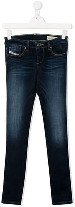 Diesel TEEN mid-rise skinny jeans
