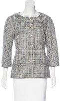 Chanel Tweed Three-Quarter Sleeve Jacket w/ Tags
