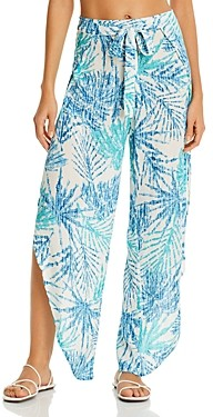 J Valdi Tulip Hem Swim Cover-Up Pants