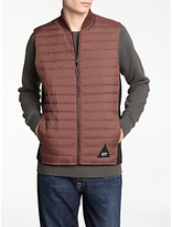 Denham Lynx Bodywarmer, Burnt Red