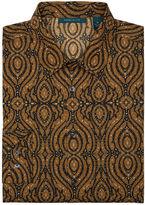 Perry Ellis Ornate Kaleidoscope Print Shirt