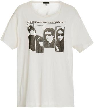 R 13 Velvet Underground Oversized Boy Tee