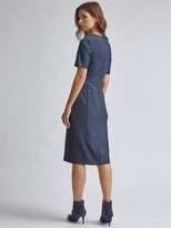 Dorothy Perkins Contour Dress - Navy