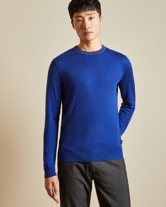 Ted Baker Long Sleeved Crew Neck Jumper