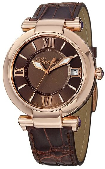 Chopard Imperiale Brown Dial Men's Watch