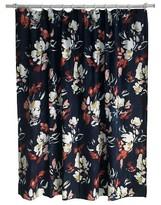 Threshold Floral Print Shower Curtain - Blue