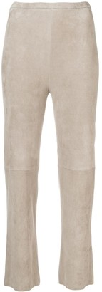 STOULS Pearl Light Flared Trousers
