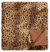 Nourison Golden Leopard Throw
