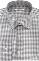 Van Heusen Men's Regular Fit Tattersall Spread Collar Dress Shirt