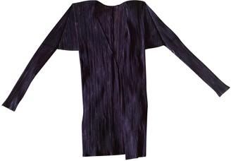 Pleats Please Purple Polyester Tops