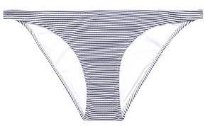 Melissa Odabash Striped Stretch-jersey Low-rise Bikini Briefs