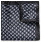 Eton of Sweden Small Diamond Pocket Square