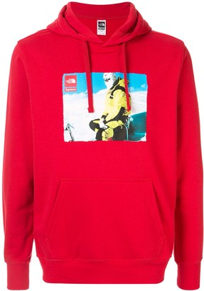 Supreme x The North Face photo hoodie