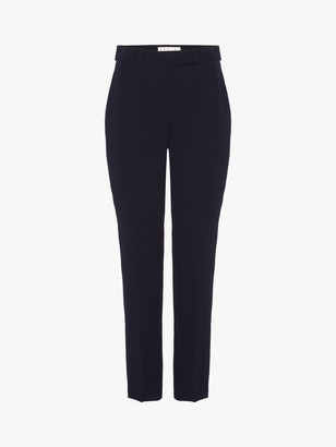 Damsel in a Dress Isabella Tapered City Suit Trousers, Navy