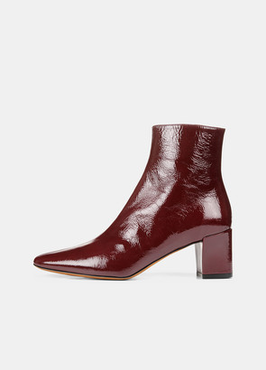 Vince Patent Leather Lanica Boot