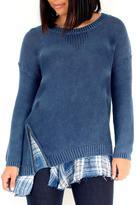 Vintage Havana Peekaboo Sweater