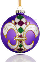 Holiday Lane Glass 2017 Mardi Gras Ball Ornament, Created for Macy's