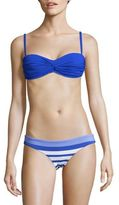 Vitamin A Soft Azure Bandeau Bikini Top