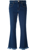 Sonia Rykiel cropped flared jeans - women - Cotton/Spandex/Elastane - 36