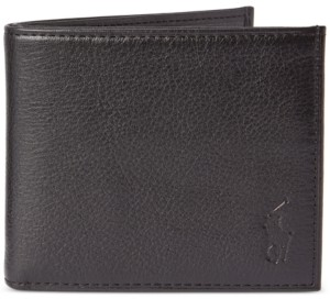Polo Ralph Lauren Men's Pebbled Leather Billfold