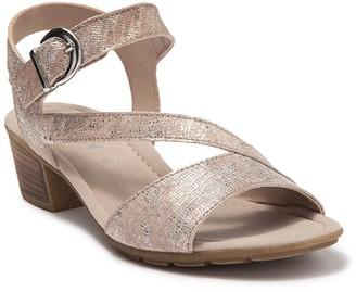 Gabor Leather Dress Sandal