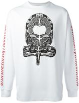 Marcelo Burlon County of Milan Ponce longsleeved T-shirt - men - Cotton/Polyester - XS