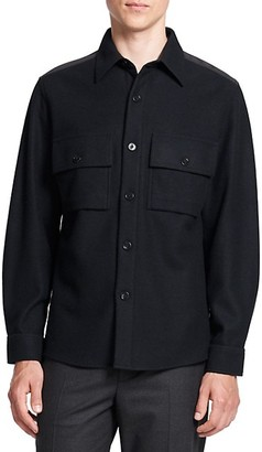 Theory Goldwin Rossland Chest Pocket Shirt Jacket