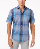 Alfani Big and Tall Elton Plaid Shirt, Created for Macy's