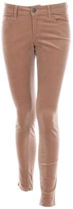 Ann Taylor Beige Cotton Trousers for Women
